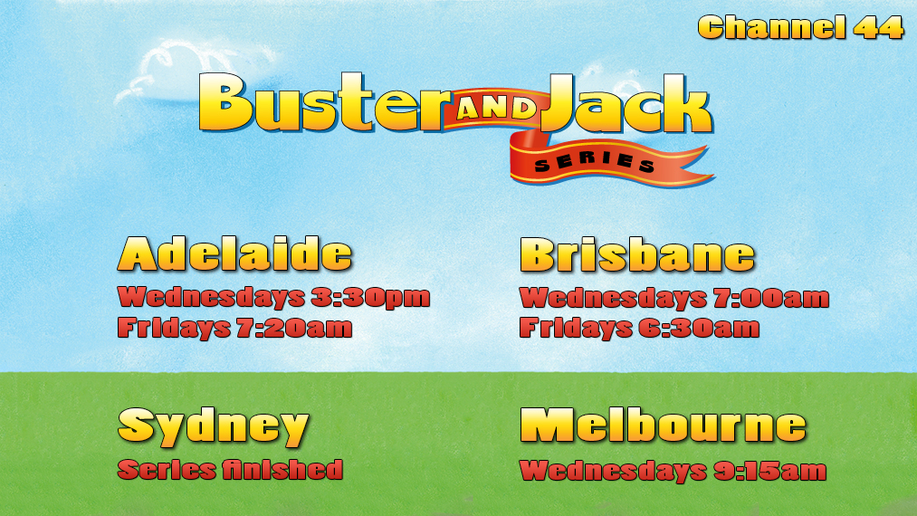 TV Guide For Australia | Buster And Jack